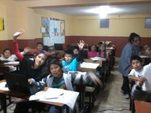 IEP. Tomás Marsano Taller de iniciación a Scratch para los alumnos de 5º de primaria. Arequipa - Perú