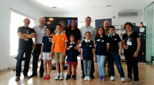 Foto de grup del taller d'iniciació a Sevilla
