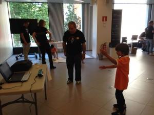 Barcelona: Rincón de Kinect