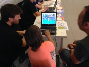 Barcelona: Rincón de Scratch Cards y MakeyMakey