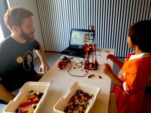 Barcelona: Rincón de Lego y Scratch.