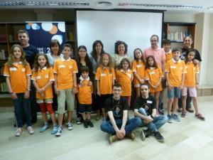 Foto de grup del taller d'iniciació a Lleida