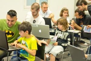 Madrid: Foto del taller de iniciación.